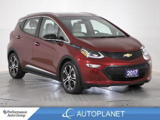 Used 2017 Chevrolet Bolt EV Premier, 360 Cam, Heated Seats, Remote Start! for sale in Brampton, ON