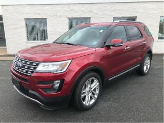 Used 2016 Ford Explorer Limited with Moonroof, Tow pkg & Adaptive Cruise for sale in Kentville, NS