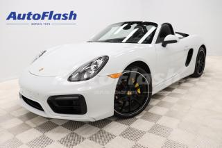 Used 2015 Porsche Boxster *PDK 2.7L H6* MAGS-20'' *PARK-ASSIST *ROLL-BAR for sale in Saint-Hubert, QC