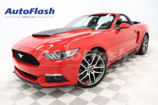 Used 2015 Ford Mustang *ECOBOOST *PREMIUM *CONVERTIBLE *BLUETOOTH *A/C for sale in Saint-Hubert, QC