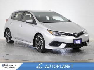 Used 2018 Toyota Corolla IM HB, Back Up Cam, Bluetooth, New Front Brakes! for sale in Brampton, ON