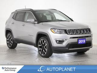 Used 2019 Jeep Compass Limited 4x4, Navi, Pano Roof, Leather,Clean Carfax for sale in Brampton, ON