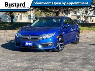 Used 2016 Honda Civic Sedan 4dr CVT Touring | Sunroof | Navi | Leather for sale in Waterloo, ON