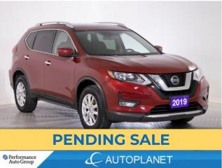 Used 2019 Nissan Rogue SV AWD, Pano Roof, Back Up Cam, Android Auto! for sale in Brampton, ON