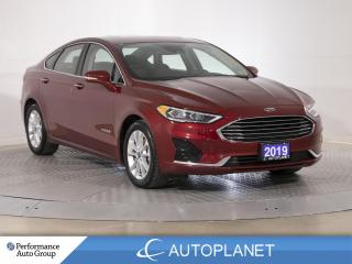 Used 2019 Ford Fusion Hybrid SEL, Back Up Cam, Sunroof, Heated Seats! for sale in Brampton, ON