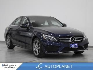 Used 2017 Mercedes-Benz C-Class C300 4MATIC, Navi, Pano Roof, New Front Tires! for sale in Brampton, ON