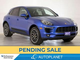 Used 2017 Porsche Macan Premium Plus AWD, Navi, Pano Roof, New Front Tires for sale in Brampton, ON