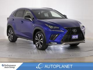 Used 2018 Lexus NX 300 AWD, F-Sport 2, Navi, Back Up Cam, Sunroof! for sale in Brampton, ON