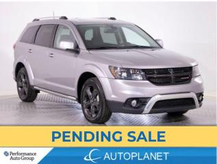 Used 2019 Dodge Journey Crossroad AWD, 7-Seater,Flexible Seating Grp,Navi! for sale in Brampton, ON