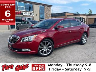 Used 2014 Buick LaCrosse Premium | New Tires | HUD | Nav | for sale in St Catharines, ON