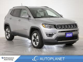 Used 2020 Jeep Compass Limited 4x4, Back Up Cam, Heated Seats, Leather! for sale in Brampton, ON