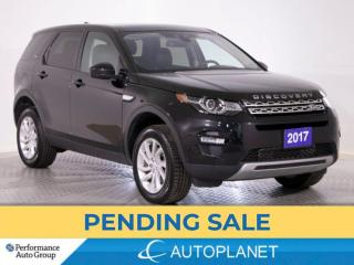 Used 2017 Land Rover Discovery Sport HSE AWD, Navi, Pano Roof, Heated Seats, New Tires! for sale in Brampton, ON