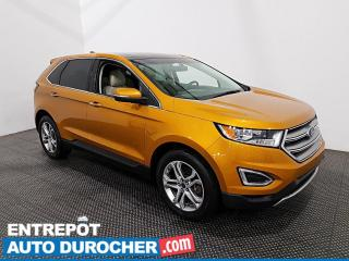 Used 2016 Ford Edge Titanium AWD NAVIGATION - TOIT OUVRANT - CUIR -A/C for sale in Laval, QC