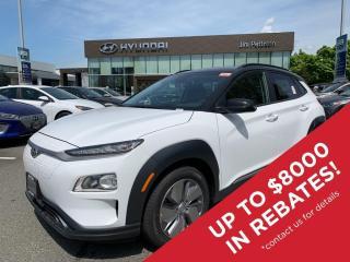 New 2021 Hyundai KONA EV Preferred w/Two Tone for sale in Port Coquitlam, BC