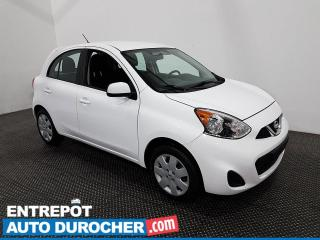 Used 2018 Nissan Micra S - Économique - Bluetooth - Climatiseur for sale in Laval, QC