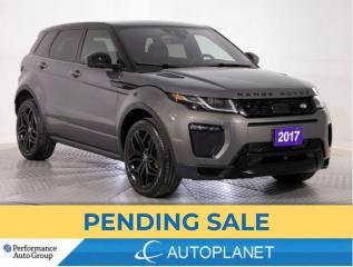 Used 2017 Land Rover Evoque Si4 HSE Dynamic AWD, Heads Up Display, Navi! for sale in Brampton, ON