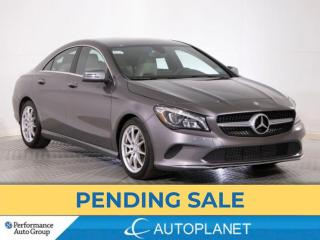 Used 2017 Mercedes-Benz CLA-Class CLA250 4MATIC, Premium Pkg, New Front Brakes for sale in Brampton, ON