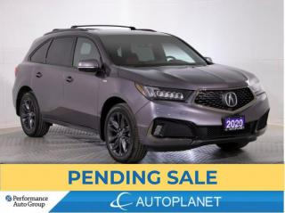 Used 2020 Acura MDX AWD A-Spec, 7-Seater, Navi, Sunroof, Remote Start! for sale in Brampton, ON