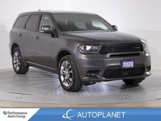 Used 2020 Dodge Durango GT AWD, 6-Seater, Tech Pkg, Lane Keep Assist! for sale in Brampton, ON
