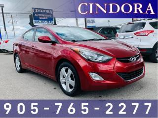 Used 2012 Hyundai Elantra GLS, 6 speed, Heated Seats, Sunroof for sale in Caledonia, ON