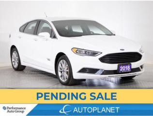 Used 2018 Ford Fusion Energi SE Luxury, Hybrid, Navi, Adaptive Cruise Control! for sale in Brampton, ON