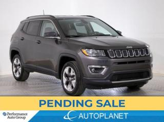 Used 2020 Jeep Compass Limited 4x4, Back Up Cam, Apple CarPlay! for sale in Brampton, ON
