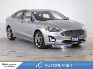 Used 2020 Ford Fusion Hybrid Titanium, Navi, Sunroof, Back Up Cam, Sony Sound! for sale in Brampton, ON