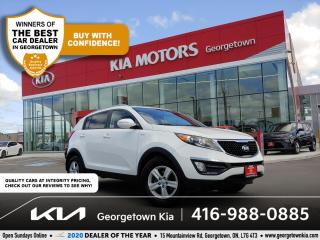 Used 2016 Kia Sportage LX AWD   1 OWNR   CLN CRFX   HTD SEATS   B/TOOTH   for sale in Georgetown, ON