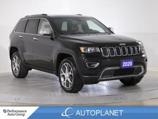Used 2020 Jeep Grand Cherokee Limited 4x4, UConnect 4C Navi Grp, Sunroof! for sale in Brampton, ON