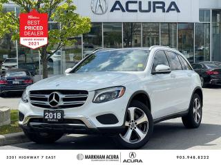 Used 2018 Mercedes-Benz GLC 300 4MATIC SUV for sale in Markham, ON