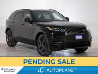 Used 2020 Land Rover Range Rover Velar P340 R-Dynamic AWD, Supercharged, Drive Pkg, Navi! for sale in Brampton, ON