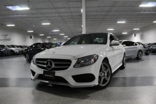 Used 2017 Mercedes-Benz C-Class C300 4MATIC I A.M.G I NAVIGATION I PANOROOF I LEATHER for sale in Mississauga, ON