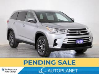 Used 2019 Toyota Highlander LE AWD, 8- Seater, Back Up Cam, New Front Brakes! for sale in Brampton, ON