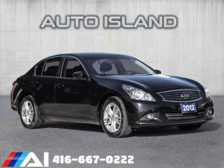 Used 2012 Infiniti G37 4dr x AWD for sale in North York, ON