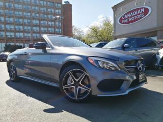 Used 2017 Mercedes-Benz C43 AMG AMG C43 CABRIOLET   CLEAN CARFAX   RED INT   MERCEDES WARR   for sale in Scarborough, ON