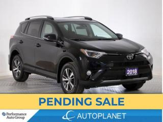 Used 2018 Toyota RAV4 XLE AWD, Sunroof, Heated Seats, New Front Brakes! for sale in Brampton, ON