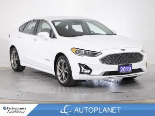 Used 2019 Ford Fusion Hybrid Titanium, Navi, Sunroof, Sony Audio, Leather! for sale in Brampton, ON