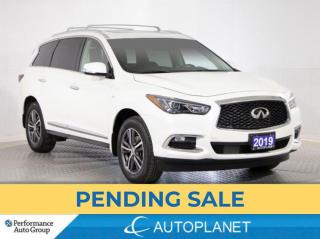 Used 2019 Infiniti QX60 Pure AWD, 7-Seater, Back Up Cam, Sunroof! for sale in Brampton, ON