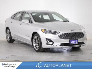 Used 2019 Ford Fusion Hybrid Titanium, Navi, Sony Audio, New Tires/Rear Brakes! for sale in Brampton, ON