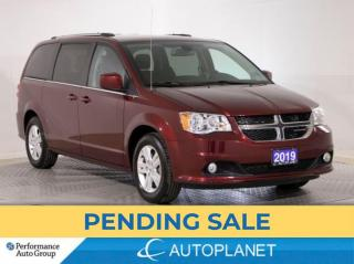Used 2019 Dodge Grand Caravan Crew, 7-Seater, Driver Convenience Grp, Navi! for sale in Brampton, ON