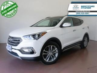 Used 2017 Hyundai Santa Fe Sport LOW KM | SUNROOF | VENTED SEATS | BACK UP CAM   - $176 B/W for sale in Brantford, ON