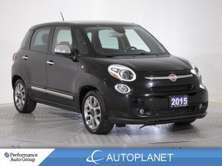 Used 2015 Fiat 500 L Lounge, Navi, Pano Roof, Bluetooth, Winter Tires! for sale in Brampton, ON