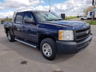 Used 2009 Chevrolet Silverado 1500 LS Crew Cab 4WD No Accidents! 4x4! 5.3 V-8! for sale in Dunnville, ON