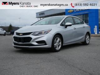 Used 2016 Chevrolet Cruze LT  - Heated Seats -  Cruise Control for sale in Kanata, ON