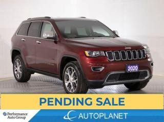 Used 2020 Jeep Grand Cherokee Limited 4x4, Back Up Cam, Memory Seat, Bluetooth! for sale in Brampton, ON