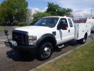 Used 2009 Ford F-350 SD Service Truck  SuperCab Dually  4WD Diesel With Winch for sale in Burnaby, BC