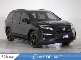 Used 2019 Honda Pilot Black Edition AWD,7-Seater, Navi,DVD, Android Auto for sale in Brampton, ON