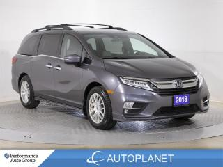 Used 2018 Honda Odyssey Touring, 8-Seater, Navi, Cooled Seats, Sunroof! for sale in Brampton, ON