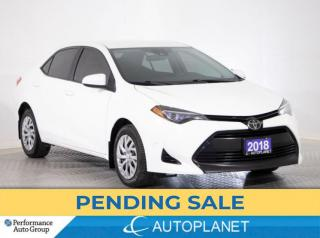 Used 2018 Toyota Corolla LE, Heated Seats, Back Up Cam, Toyota Safety Sense for sale in Brampton, ON