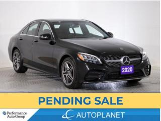 Used 2020 Mercedes-Benz C-Class C300 4MATIC, Turbo, Premium/Sport Pkg! for sale in Brampton, ON